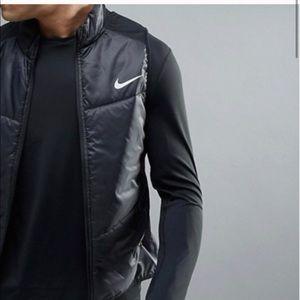 NIKE Lightweight Aero Running Vest Black Large